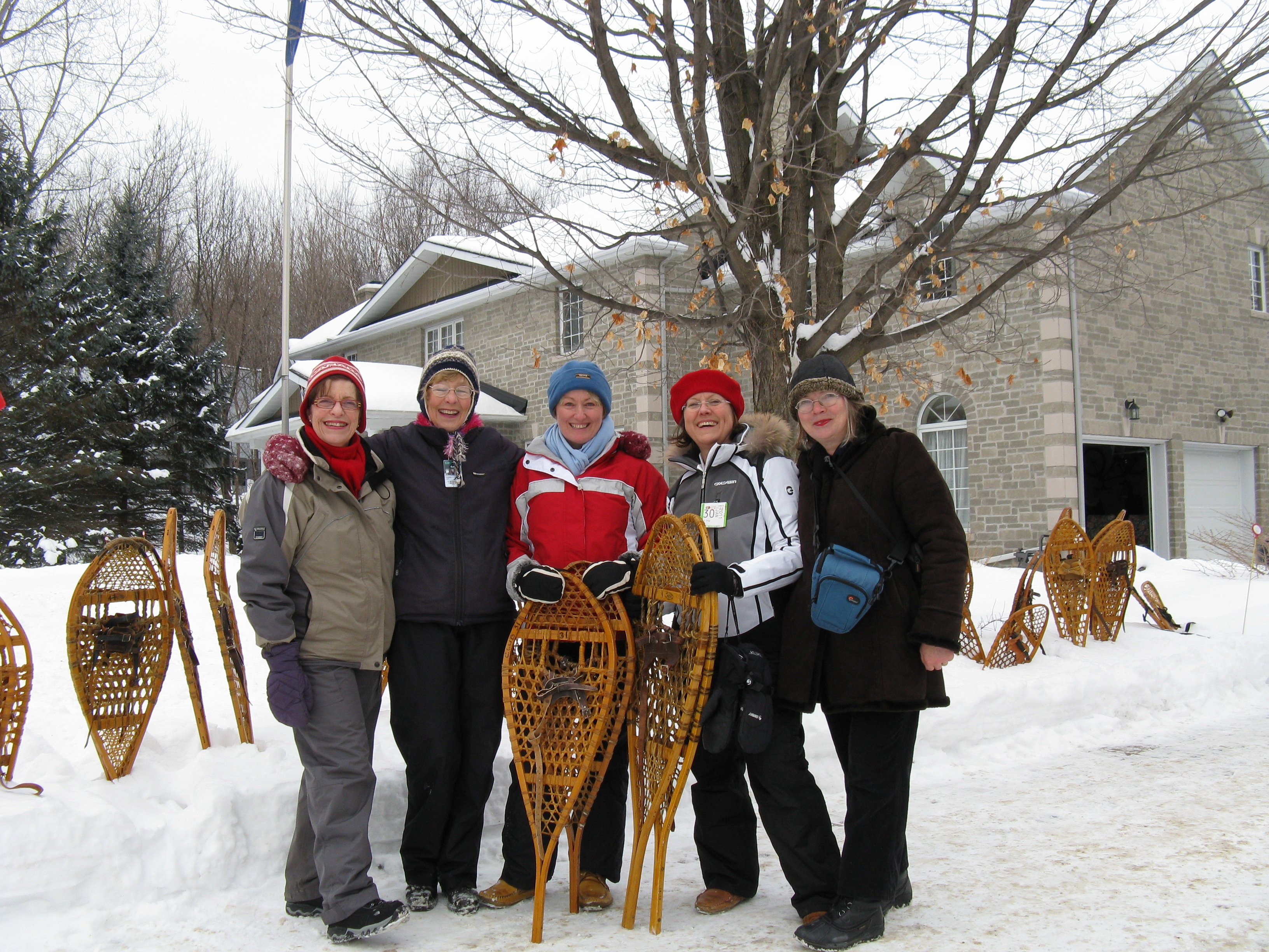 Diplomatic Hospitality snowshoeing